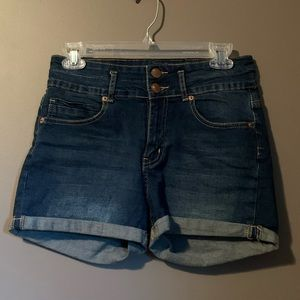 Cotton on mid to high rise shorts
